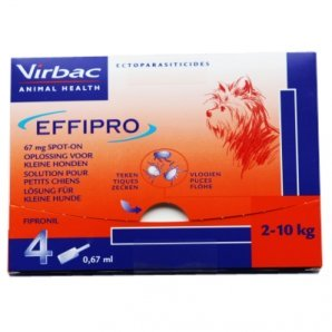 Effipro Spot-On Chiens de 2 kg à 10 kg