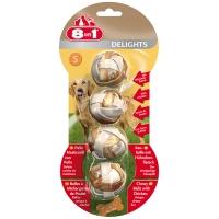 8in1 Delights Balles à mâcher au poulet