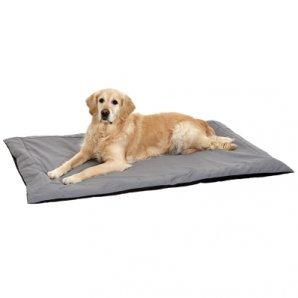 Tapis pour chien DOC BED noir et gris