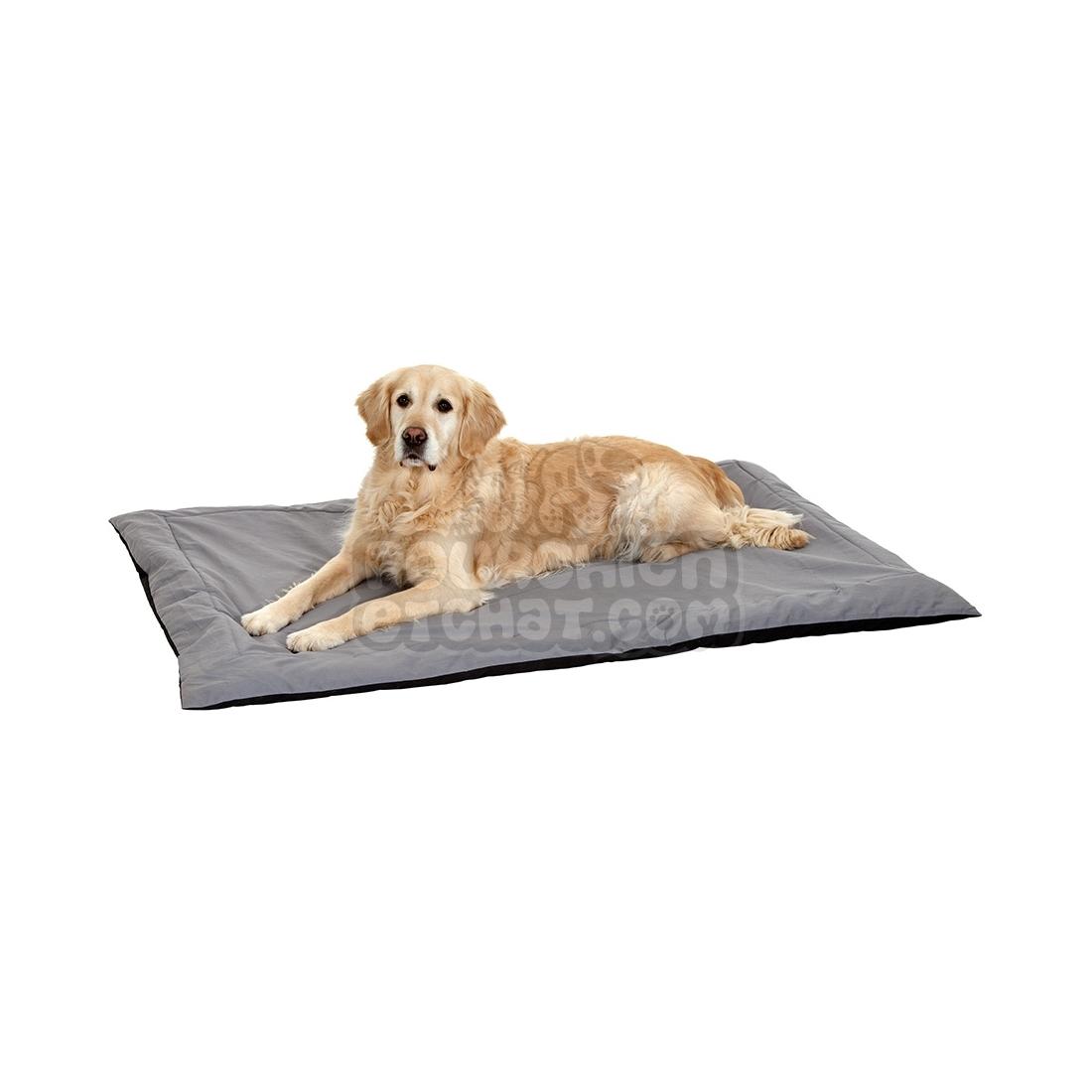 tapis pour chien doc bed noir et gris. Black Bedroom Furniture Sets. Home Design Ideas