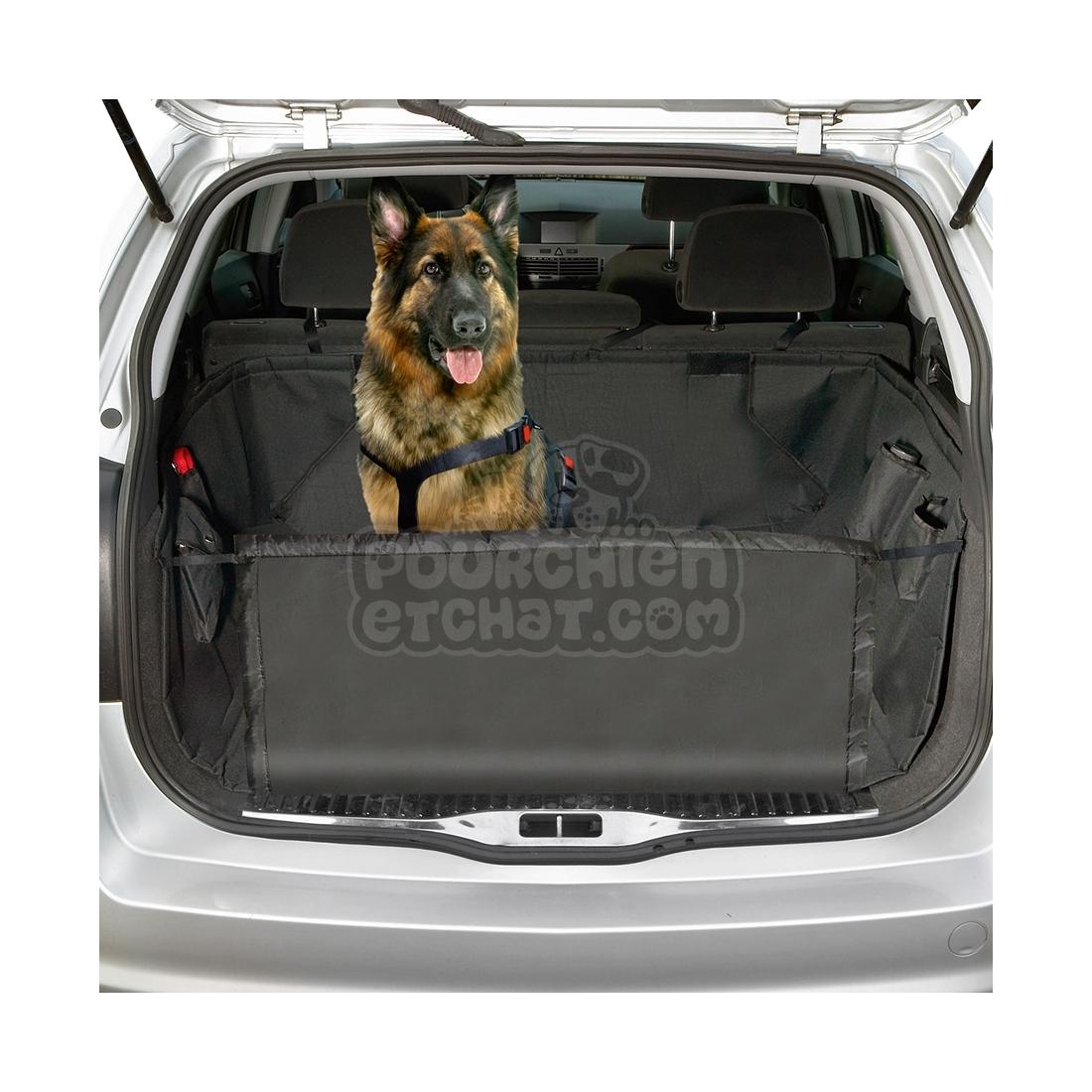 Couverture de protection pour coffre de voiture care safe for Housse protection coffre chien