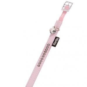 Collier pour chat MONTE CARLO rose