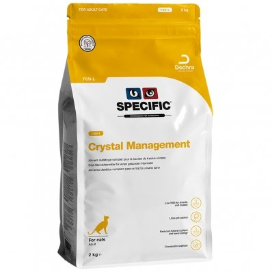Croquettes chat SPECIFIC FCD-L Crystal Management Light