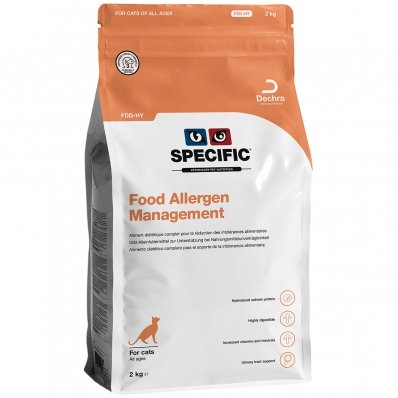 Croquettes chat SPECIFIC FDD-HY Food Allergen Management