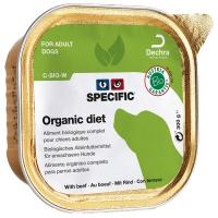 Barquettes chien SPECIFIC C-BIO-W Organic