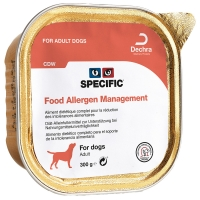 Barquettes chien SPECIFIC CDW Food Allergy Management