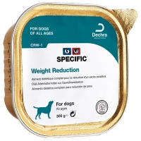Barquettes chien SPECIFIC CRW-1 Weight Reduction