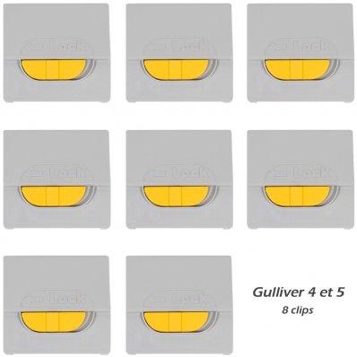 Clips de remplacement pour caisse de transport Gulliver IATA