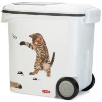 Container à croquettes chat CURVER