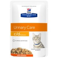 Sachets Repas Hill's Prescription Diet Feline c/d