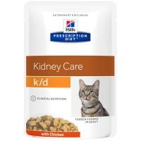 Sachets Repas Hill's Prescription Diet Feline k/d