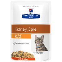 Sachets Repas Hill's Prescription Diet Feline k/d