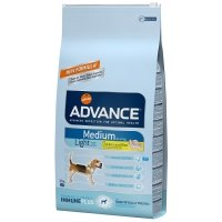 Croquettes chien ADVANCE Medium Light