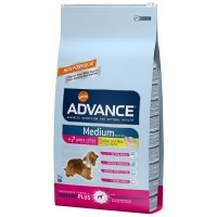 Croquettes chien ADVANCE Medium +7