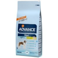 Croquettes chien ADVANCE Maxi Light