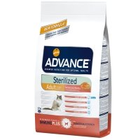 Croquettes chat ADVANCE Sterilized Adult Salmon