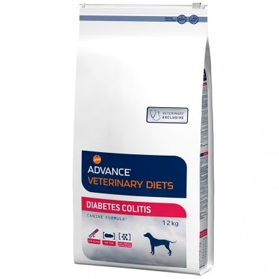 Croquettes chien ADVANCE VETERINARY DIETS Diabetes Colitis