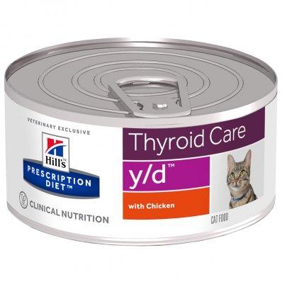 Boîtes Hill's Prescription Diet Feline y/d