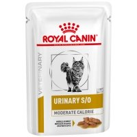 Sachets Repas Royal Canin Veterinary Diet Chat Urinary S/O Moderate Calorie