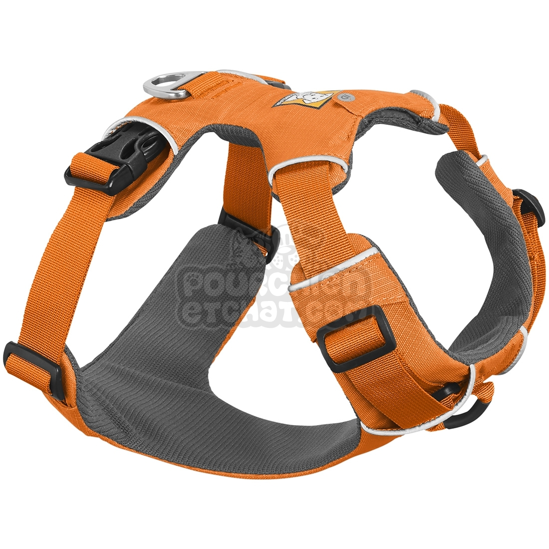 Harnais pour chien Ruffwear Front Range orange