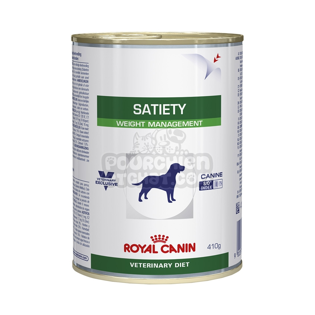 bo tes royal canin veterinary diet chien satiety weight. Black Bedroom Furniture Sets. Home Design Ideas