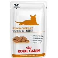 Sachets Repas Royal Canin Veterinary Diet Chat Senior Consult Stage 2