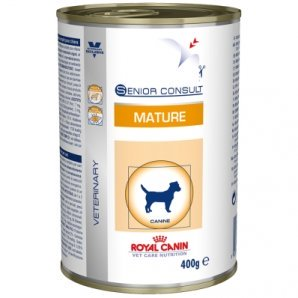 Boîtes Royal Canin Vet Care Nutrition Senior Consult Mature