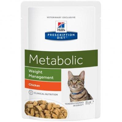 Sachets Repas Hill's Prescription Diet Feline Metabolic