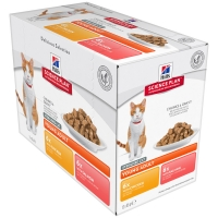 Sachets Repas Hill's Science Plan Feline Young Adult Sterilised Cat