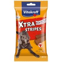 Friandise pour chien Vitakraft Xtra Stripes au Bœuf