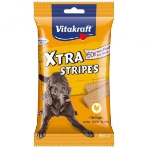 Friandise pour chien Vitakraft Xtra Stripes au Poulet