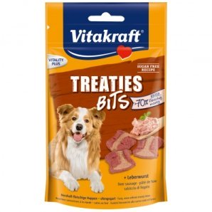 Friandise pour chien Vitakraft Treaties Bits au pâté de foie