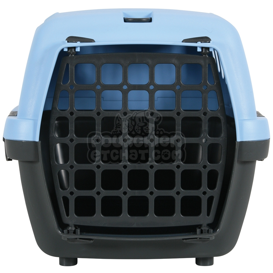 caisse de transport gulliver bleu et gris. Black Bedroom Furniture Sets. Home Design Ideas