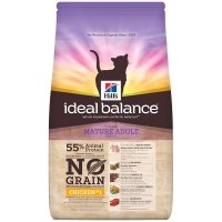 Hill's Ideal Balance Feline Mature Adult No Grain