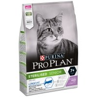 PRO PLAN Chat Sterilised 7+ Dinde