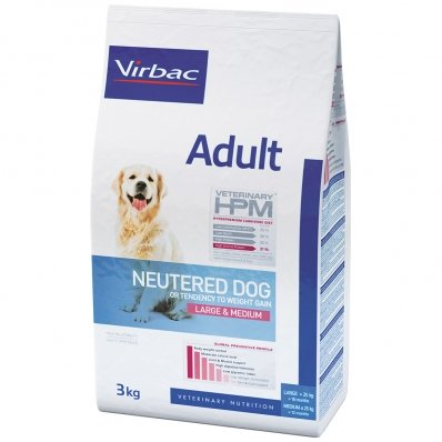 Virbac Veterinary HPM Adult Dog Neutered Large & Medium