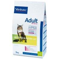 Virbac Veterinary HPM Adult Cat au Saumon Neutered & Entire