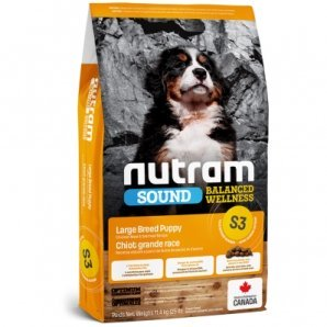 Croquettes chien Nutram Sound Balanced Wellness S3 Large Breed Puppies