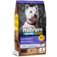 Croquettes chien Nutram Sound Balanced Wellness S7 Small Breed Adult Dog