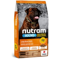 Croquettes chien Nutram Sound Balanced Wellness S8 Large Breed Adult Dog