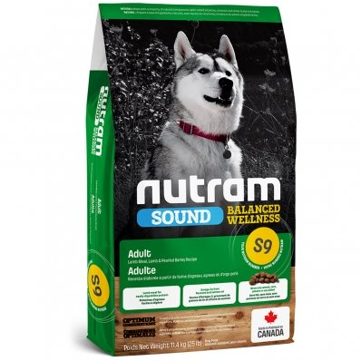 Croquettes chien Nutram Sound Balanced Wellness S9 Adult Dog Lamb