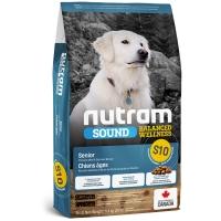 Croquettes chien Nutram Sound Balanced Wellness S10 Senior Dog