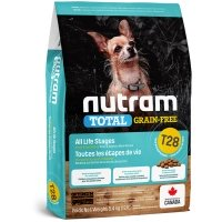 Croquettes chien Nutram Total Grain-Free T28 Small et Toy Breed Salmon & Trout