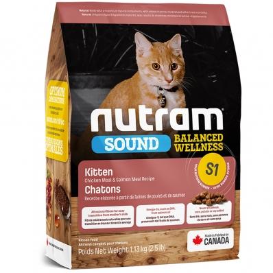Croquettes chat Nutram Sound Balanced Wellness S1 Kittens