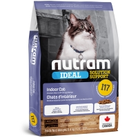 Croquettes chat Nutram Ideal Solution Support I17 Indoor Shedding Cat