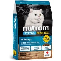 Croquettes chat Nutram Total Grain-Free T24 Salmon & Trout