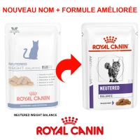 Sachets Repas Royal Canin Veterinary Diet Chat Neutered Weight Balance