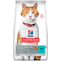 Hill's Science Plan Feline Young Adult Sterilised Cat Tuna