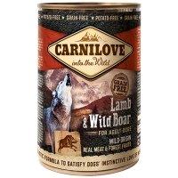 Boites chien CARNILOVE Adult Lamb & Wild Boar