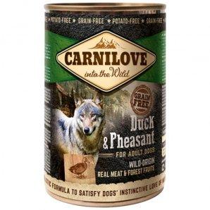 Boites chien CARNILOVE Adult Duck & Pheasant